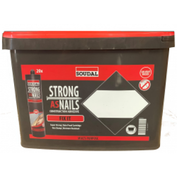 STRONG AS NAILS - FIX IT GRAB AND GO  - 20 X 350g Cartridges per Bucket