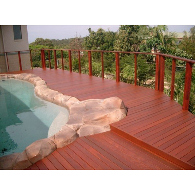 Deckmate kwila decking - Suitable materials for decking ...