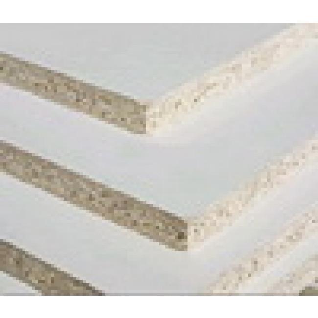 1800 X 445 X 16MM WHITE MELAMINE PVC EDGE